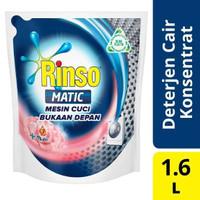 Detergen Cair Rinso Matic Liquid Front Load Bukaan Depan 1600ml