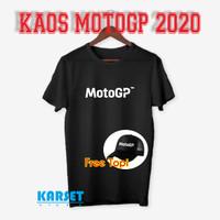 Kaos distro/baju distro pria motogp 2020
