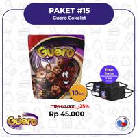 Guero Rasa Cokelat ( 1 kotak isi 10 Pcs )