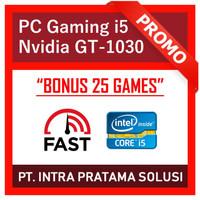 PC Gaming Intel i5 + Nvidia (Siap Pakai + Bonus Games 25x)