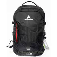 Tas Ransel Eiger 2221 Wanders 30L Backpack Support Laptop - Black