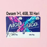 Voucher Kuota Data Axis Aigo OWSEM 4GB ( 1+1+2 )