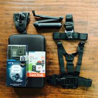 Kamera GoPro HERO 8 Black dengan Asesoris Tambahan