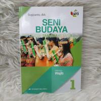 Buku Seni Budaya Kelas 1 / X 10 Sma Wajib K13N Erlangga
