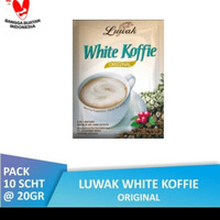 luwak white coffee sachet 20gr kopi