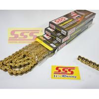 RANTAI SSS 428 HSBT GOLD 130L: CB150 CBR150 VIXION NVL NINJA R RR GSXR