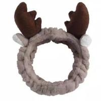Headband Kuping Rusa/Bandana Rusa/Bandana Facial Rambut/Bando Masker