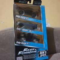 diecast jada toys fast & furious set dodge charger Nissan gtr r35