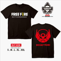 Kaos Baju Game Free Fire Battleground BIGETRON E Sport Kaos Game