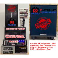 Paket Sound System Karaoke HARDWELL PR AUDIO TRENDING 1 ORIGINAL 1 Set