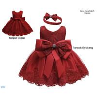 Baju Pesta Anak Perempuan /Gaun Dress Anak Terlaris-Dress Corry Kids A
