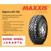 Maxxis Bighorn MT 762 ukuran 31x10.5 r15 Ban Mobil MT762 31 x 10.5 R15