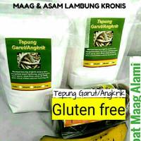 Tepung Garut//Irut/Angkrik/Arrowroot - 250 gram