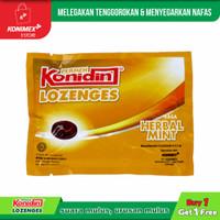 Konidin Lozenges Herbal Mint 1+1 Melegakan Tenggorokan & Menyegarkan