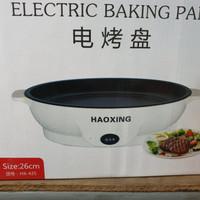 panci listrik haoxing electric baking pan haoxing