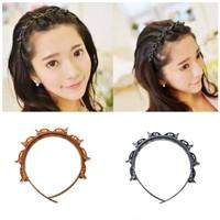 Bando Jepit Rambut Korea Hair Twister Kunyou Headband