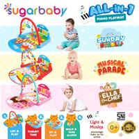 Sugarbaby PIANO PLAYMAT Playgym Musical Musikal Sugar Baby Mainan Bayi