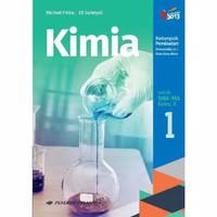 Buku Kimia Kelas 1 / X 10 Sma Peminatan K13N Erlangga