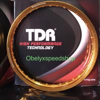 Velg TDR WX Shape 17 x 160 warna Gold