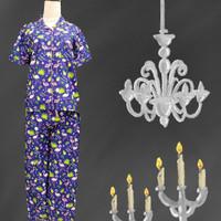 Baju Tidur Wanita Severin (Flamingo) St. Lgn Pdk Cln Pjg All Size