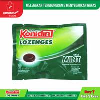 Konidin Lozenges Mint 1+1 Melegakan Tenggorokan & Menyegarkan Nafas