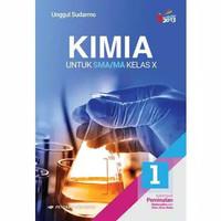 Original Buku Kimia Kelas 1 / X 10 Sma Peminatan K13N Erlangga