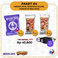 Medan Jaya + Maracco Balado + Marocco Cumi (1 kotak isi 3pack/60bks)