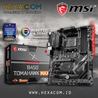 MSI B450 TOMAHAWK MAX - Socket AM4 Best Price Surabaya