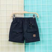 Celana Pendek anak Uno Cargo Short Pants 1-10TAHUN - NAVY, S KIDS