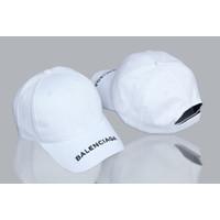 topi polocaps baseball caps Balenciaga white high quality