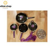 Panci set isi 15pcs Cookware Sinda stainless steel 555 dengan kukusan