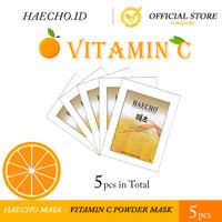 Vitamin C Powder Mask Peel Off - Haecho (5 pcs)