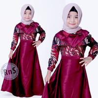 fashion anak perempuan gamis batik anak baju muslim anak perempuan