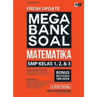 FRESH UPDATE MEGA BANK SOAL MATEMATIKA SMP KELAS 1, 2, & 3