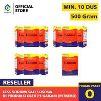 PAKET GARAM DIET LOSOSA PAKET RESELLER MINIMAL 10 DUS 500 GRAM