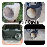 Box Sudut Audio Cayla/Sigra 10&12