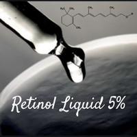 Bahan Kosmetik Aktif Retinol Liquid 5% per 5ml