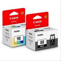 tinta Canon cartridge 88 black & 98 color for E500, E510