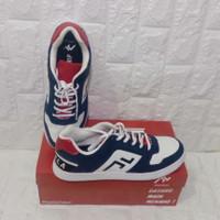 Sepatu Futsal Zethro TRIVELA Mebius Booster Original - Putih, 43