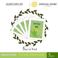 Tea Tree Powder Mask Peel Off - Haecho (5 pcs)