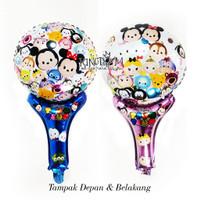 Balon Souvenir Tsum-Tsum / Balon Pentung TsumTsum - Balon Murah