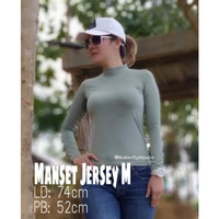 Manset Baju   Manset Atasan   Bahan Jersey Premium Size Medium