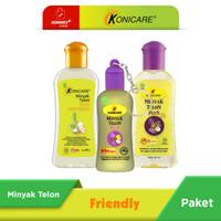 Konicare Minyak Telon Plus & Extra Lemongrass 60 ml Paket Friendly