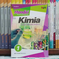 Buku Mandiri Kimia Kelas 1 / X 10 Sma K13N Erlangga