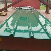 Atap spandek 1020 warna hijau 0,4