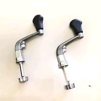 handle reel pancing gagang reel besi 1000-2000-3000-4000