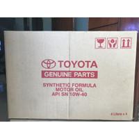 Oli TMO 10W 40 1 dus (4x4liter) Original Toyota