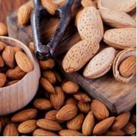 kacang almond 1 kg matang