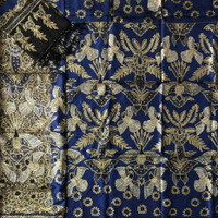 bahan sarimbit kain batik tulis sutra atbm prada