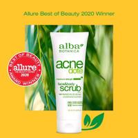 Alba Botanica Acne Dote Face & Body Scrub - 227 gram